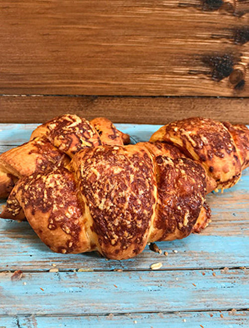 Afbeelding van Ham-kaas croissant