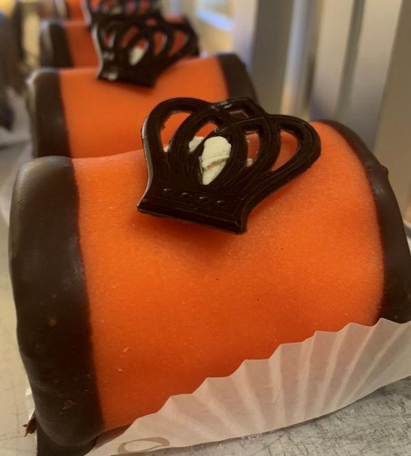 Afbeelding van Oranje  mergpijp